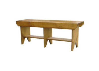 Pine Springwater Woodcraft 4 Foot Bucket Bench