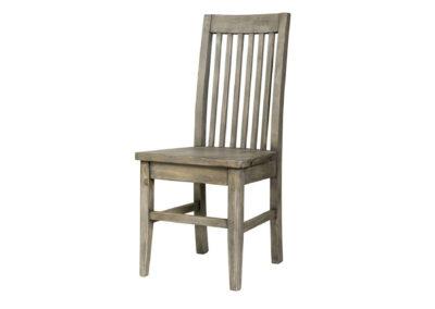 Irish Coast Slat Back Chair Black Olive