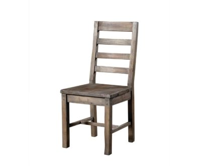 LH Imports reclaimed pine Fergus Sundried Slat Back Chair