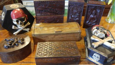 Assorted Wood Jewelry Boxes