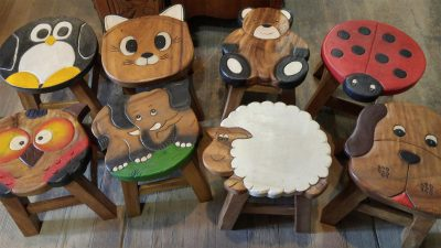 Assorted Childs Animal Stools