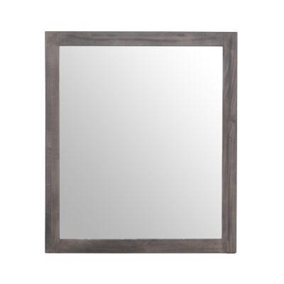 LH Imports reclaimed pine Fergus Sundried Framed Mirror