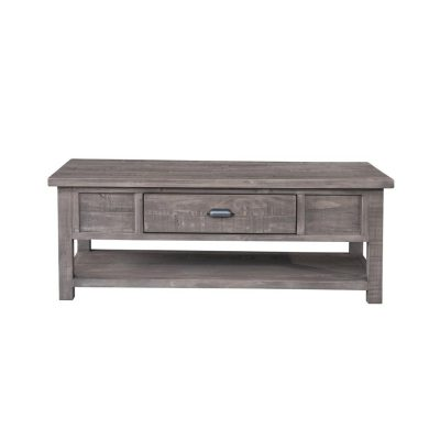 LH Imports reclaimed pine Fergus Sundried Coffee Table
